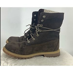 Timberland Anti-fatigue brown  suede  boot